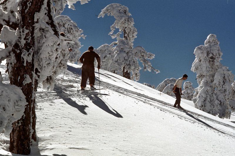1961 Cyprus - skiing on Troodos