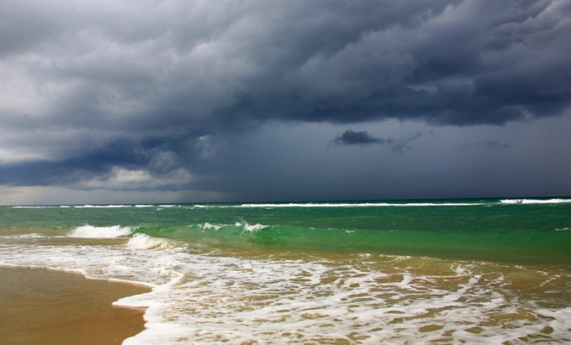 Offshore storms