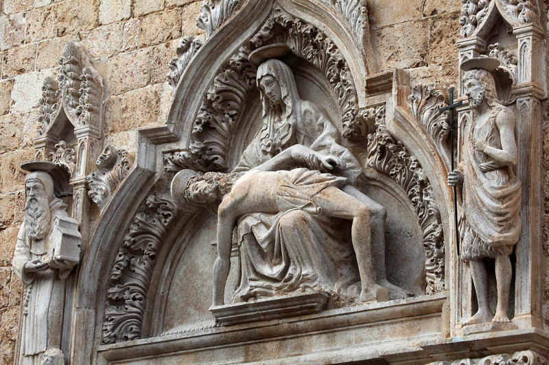 The suffering Jesus