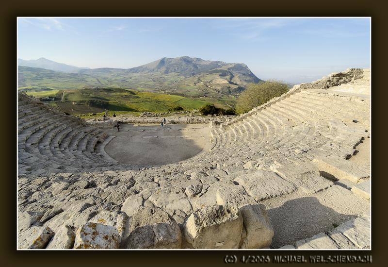 Ancient Theatre at Segesta