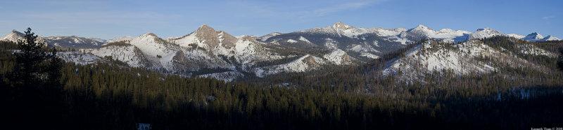 Clark Range Winter Panorama
