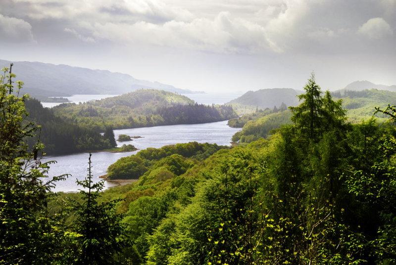 Loch Sween from near Arichonan