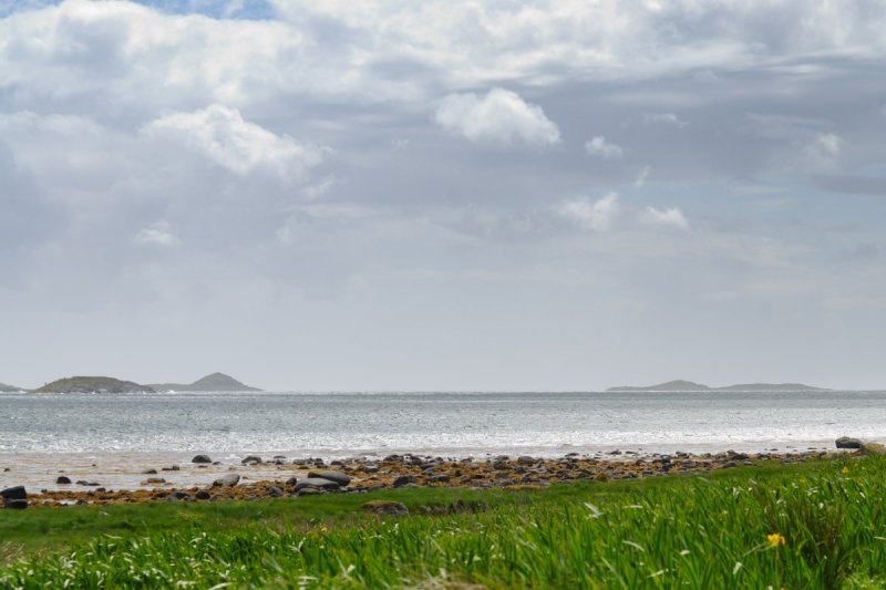 approaching the sound of Jura from Tayvallich