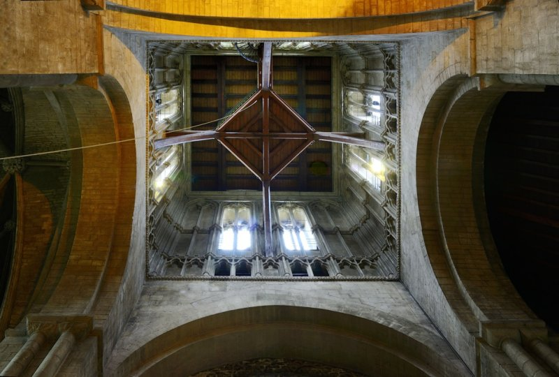 inside of the tower