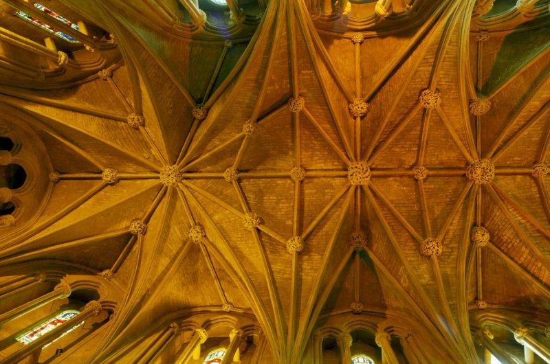 chancel roof vaulting