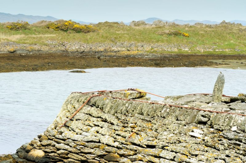 the old jetty at Keillmore