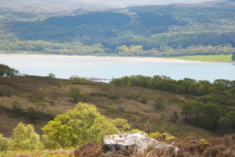 across Loch Killisport to Achad