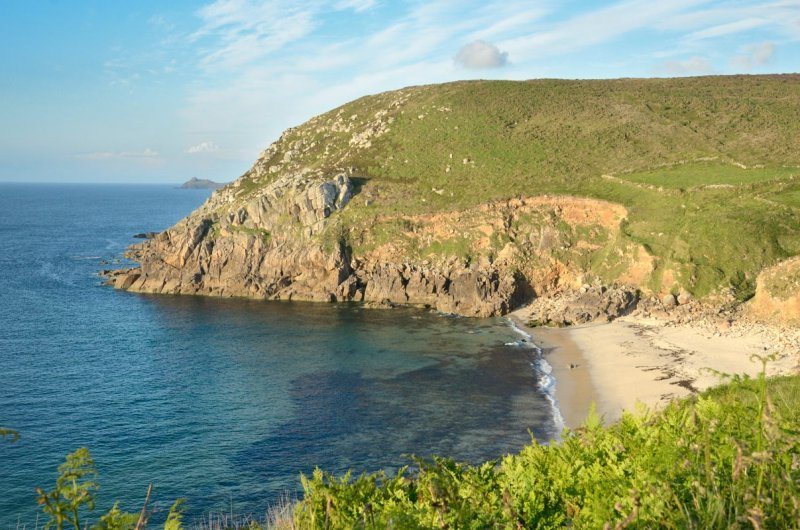 Portheras cove from west
