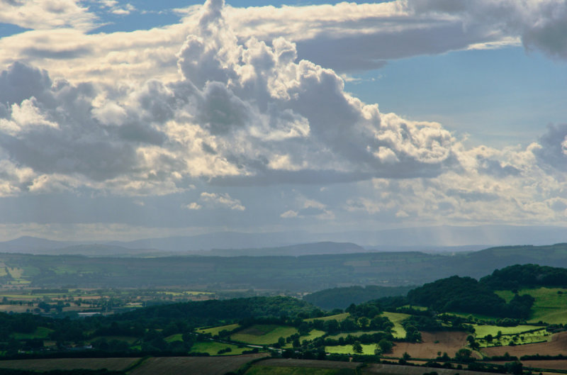 Sunny intervals and showers