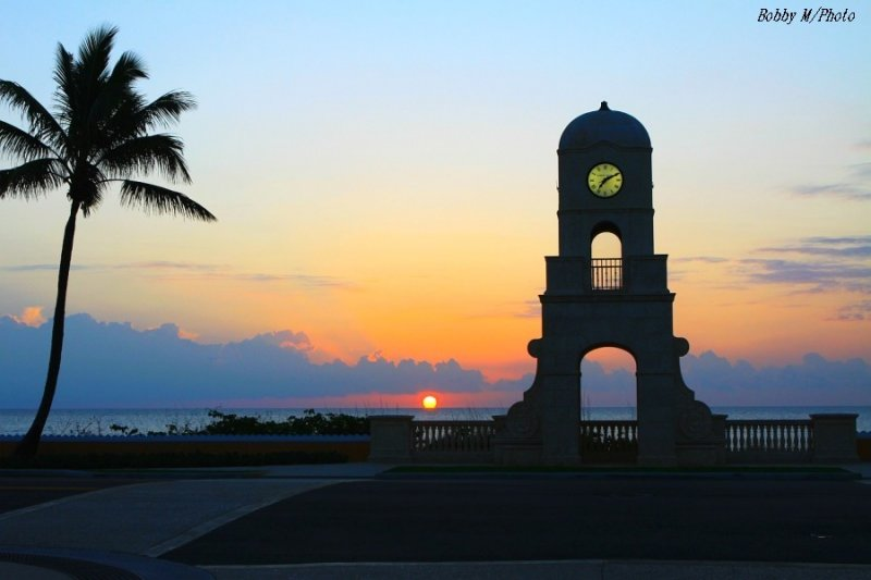 Clock tower in the morning