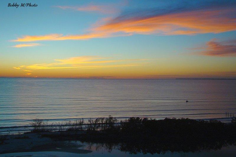 Gulf after Sunset