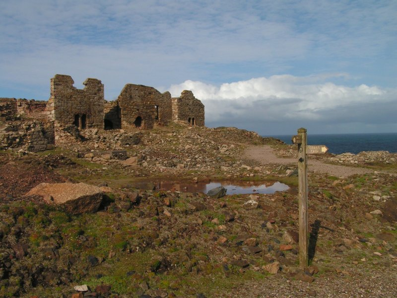 Levant Mine at Trewellard, Pendeen - near St Just, Cornwall
