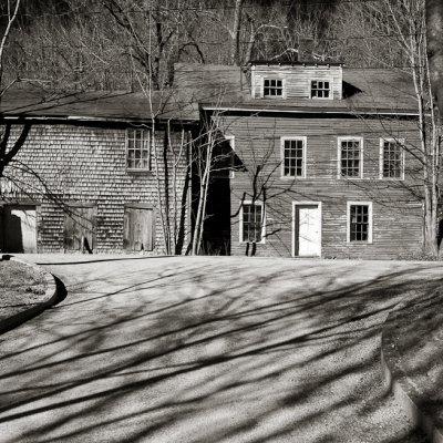 House, Barn and Shadows