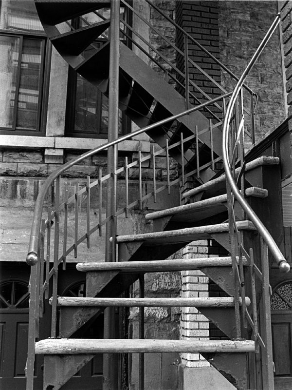 Stairs, Montreal, Canada