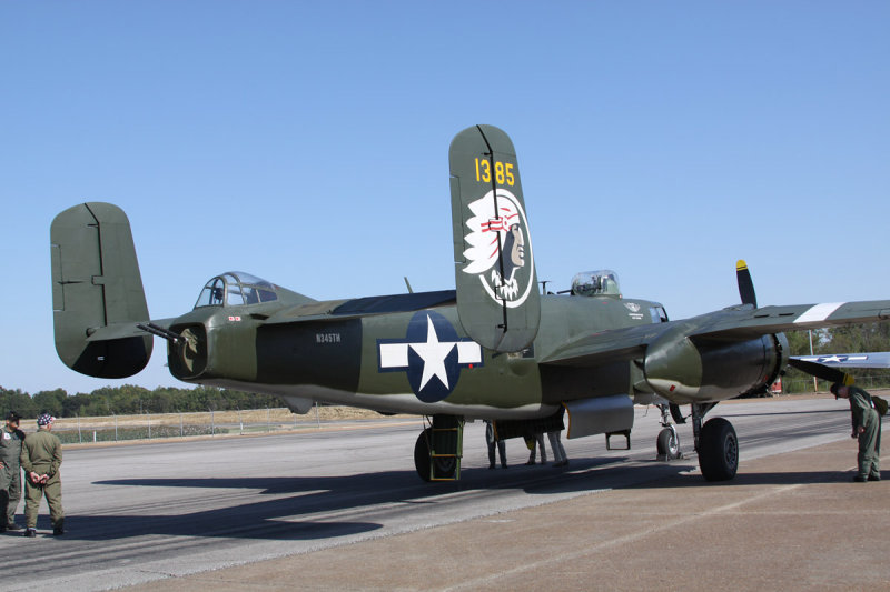 North American B-25J Mitchell Show Me