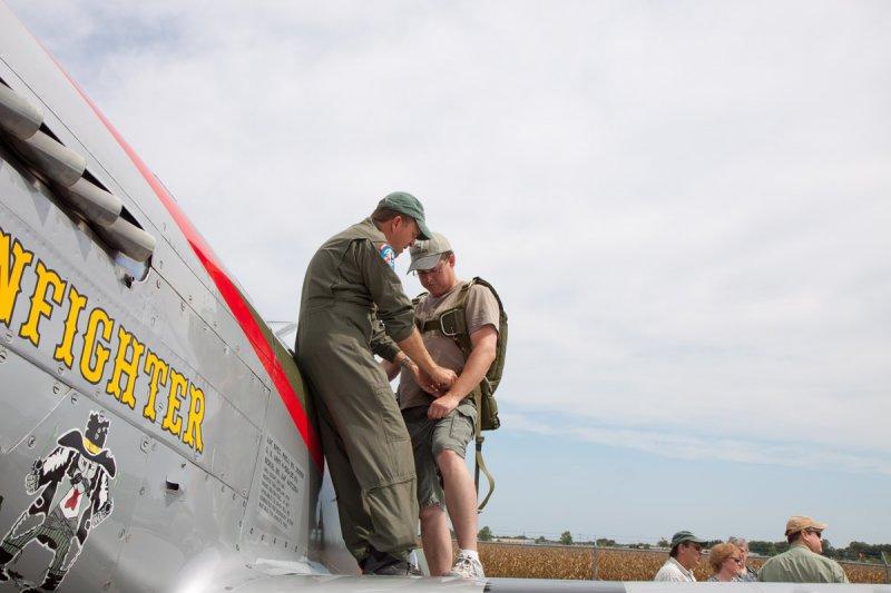 Gunfighter flight preperation