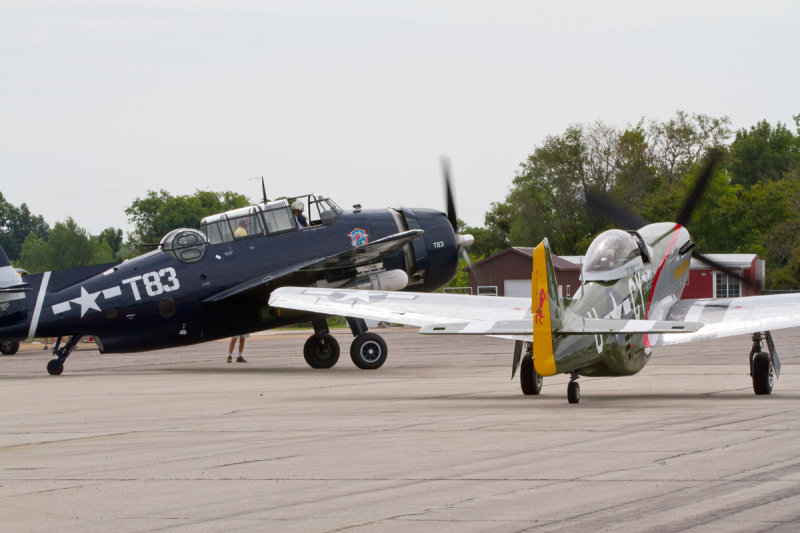 on the move with the huge TBM Avenger