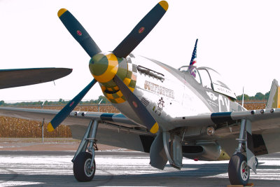 North American P-51D Mustang Gunfighter