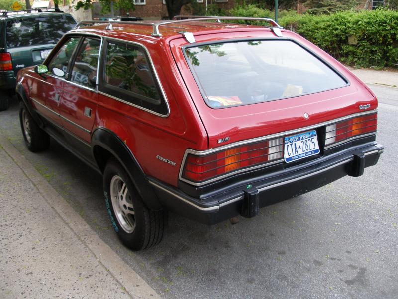 1982 AMC Eagle (remember these???)