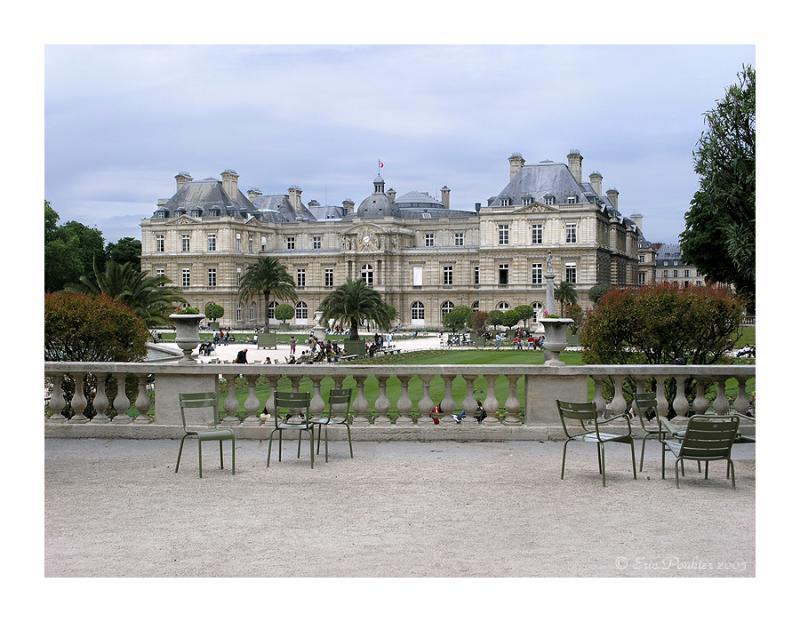 Palais du Luxembourg a Paris.