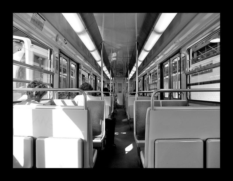 Inside the metro - Paris