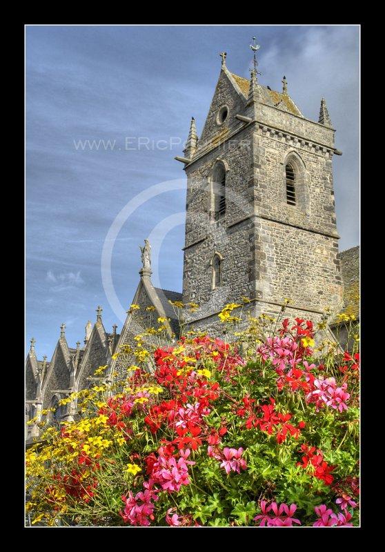 Eglise de Biville le clocher