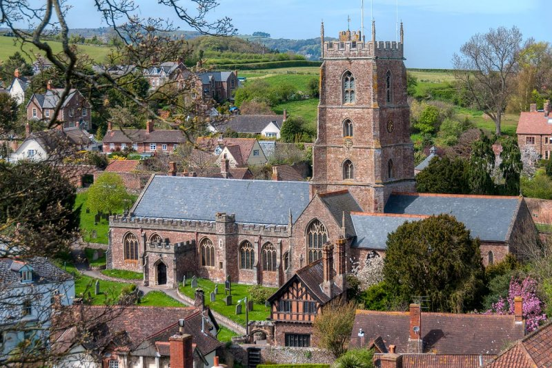 Priory Church of St George, Dunster