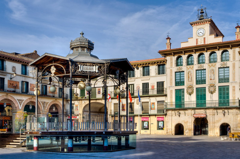 The Plaza Mayor, Tudela