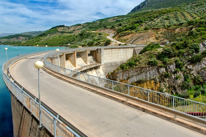 Reservoir at Casillas