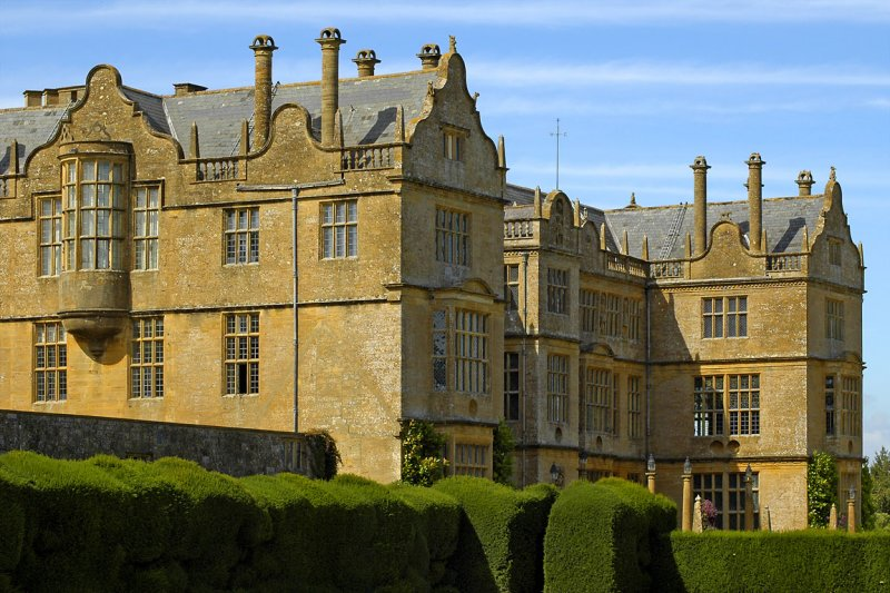 The back of Montacute house (3483)