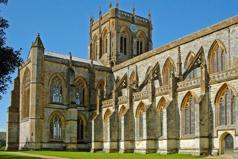 Milton Abbey ~ side view