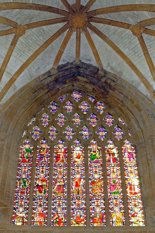 Milton Abbey ~ side window