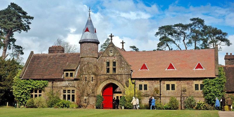 Knightshayes Court ~ shop and restaurant