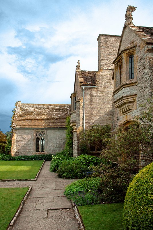 Lytes Cary Manor ~ front path
