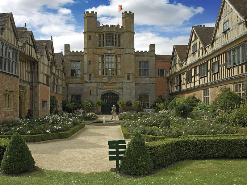 Coughton Court ~ rear of house