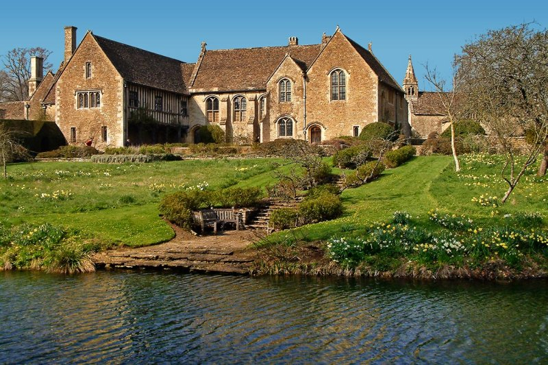 Great Chalfield Manor ~ back of house