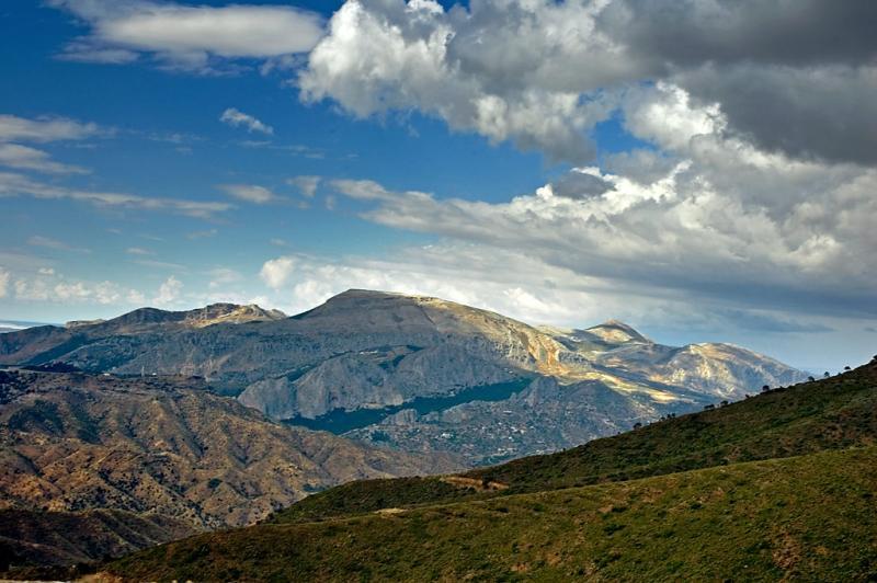 View from the top of Sierra de Aguas