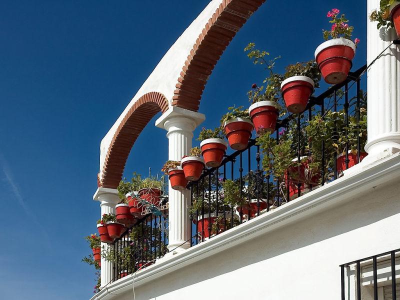 Flower pots, Mijas