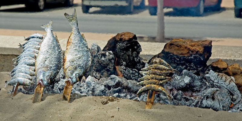Cooking fish, Fuengirola