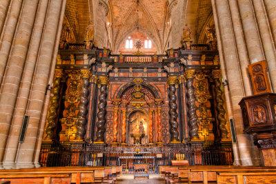 Cathedral interior, Sigüenza