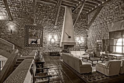 Lounge area, Parador de Jaen