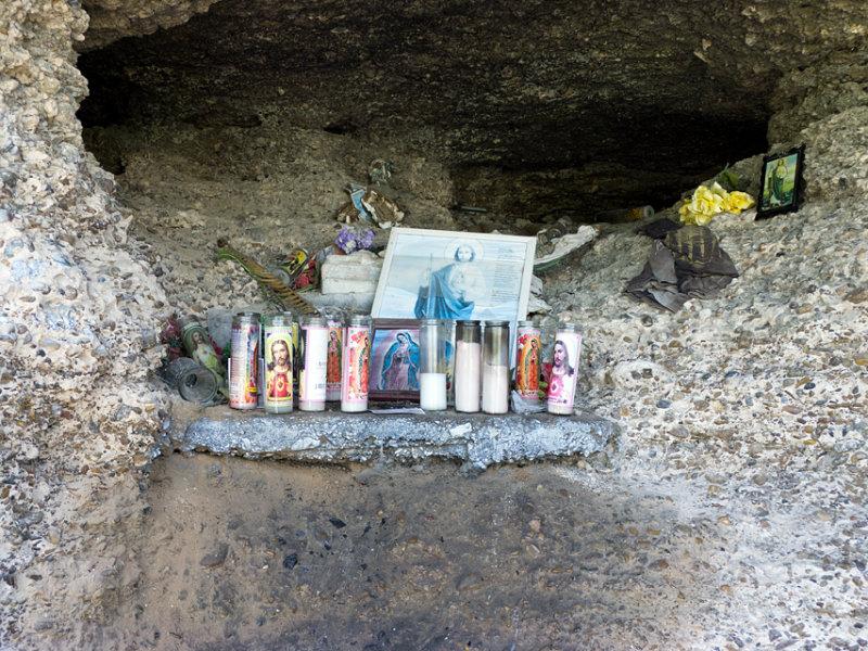 Shrine in rock shelter