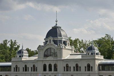 New renovation near Vajdahunyad Castle