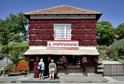The Paprika House in Tihany