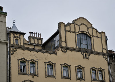 Secessionist architect Ödön Lechners house in Buda