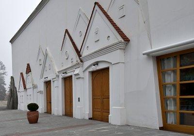 Theater, side doors