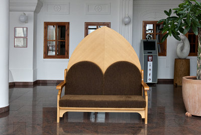 Theater, lobby seating