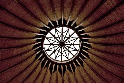 Makói Hagymatikum Fürdő (baths), entry dome