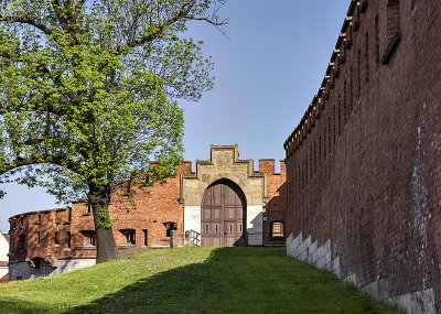 Wawel Royal Castle, gate