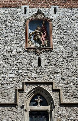 St. Florians Gate, detail